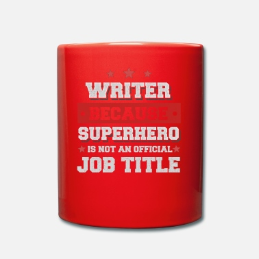 Writer Omdat Writer Superhero is geen baan - Mok uni