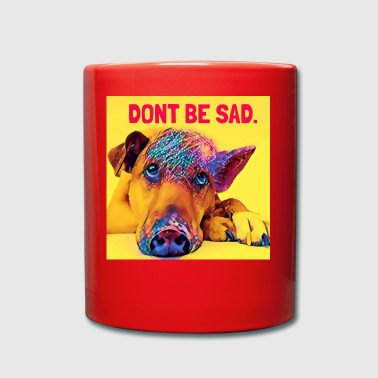 No estés triste - Taza de un color