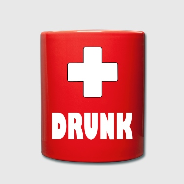 Plus drunk plus - Full Colour Mug