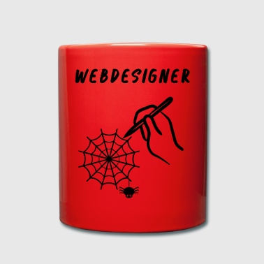 Web Web designers - Full Colour Mug