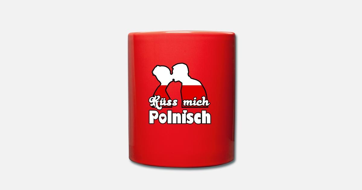 Küss mich Polnisch Geschenk von DoctorsDarling   Spreadshirt