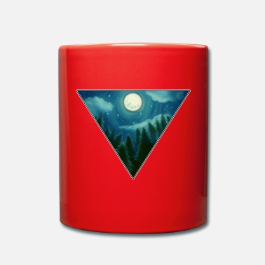 Full Moon full moon - Full Colour Mug