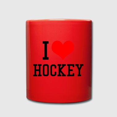I Love Hockey - Full Colour Mug