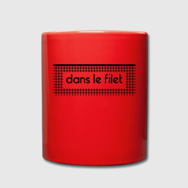 In the net Let Net - Customizable - Full Colour Mug