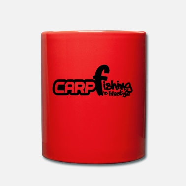 Carpe Poisson Carpe, poisson, pêche à la carpe, pêche - Mug uni