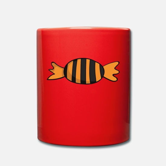 Nuit Mugs et récipients - Trick or Treat - Mug rouge