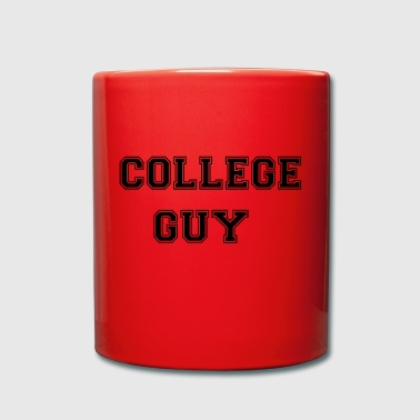 College Guy - Hours - College - Enfärgad mugg