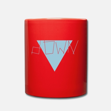 Down down - Full Colour Mug