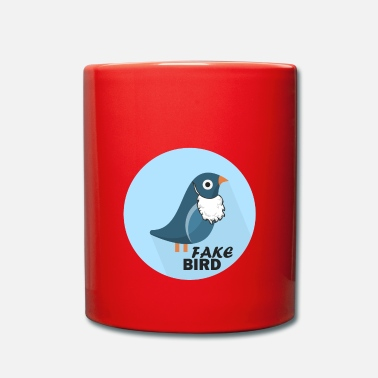 Officialbrands Fake News Bird T-Shirt - Full Colour Mug