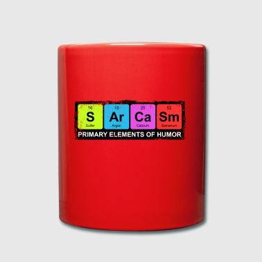 Sarcasm Periodic Elements Of Humor - Full Colour Mug