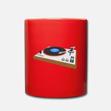 Turntable Turntable turntable - Full Colour Mug