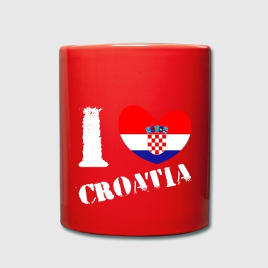 Croatia Croatia flag, Croatia, Croatia flag - Full Colour Mug