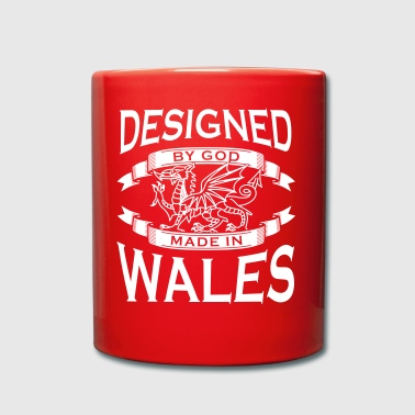 Designed by God - Wales M - Full Colour Mug
