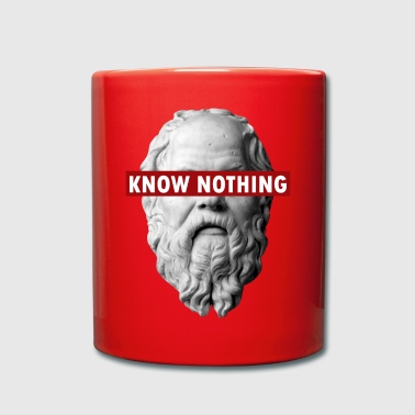 KNOW NOTHING SOCRATES - Tazza monocolore