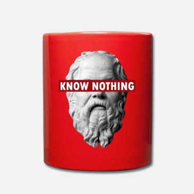 Filosofia KNOW NOTHING SOCRATES - Tazza monocolore