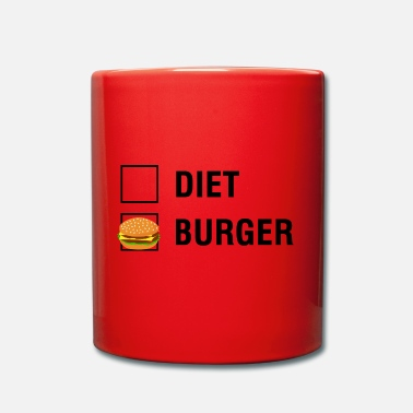 Aanvinken Burger VS Diet Food Lover - Mok uni