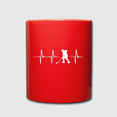 Heartbeat du hockey - Mug uni