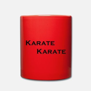 Karate karate karate - Full Colour Mug
