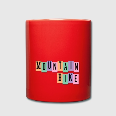 Mountain Bike - Tasse einfarbig