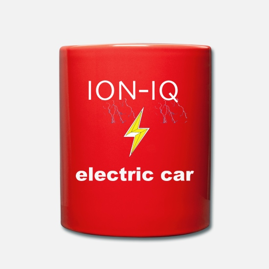 Car Mugs & Drinkware - ION IQ - Mug red