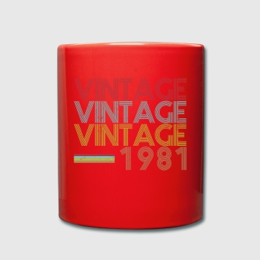 1981 - Full Colour Mug