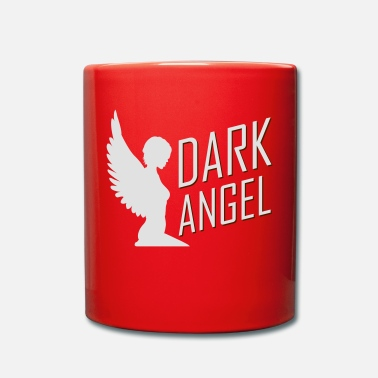 Dark Wave Dark Angel - Taza de un color