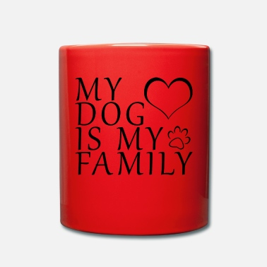 German Shepherd Dogs Family Love Retriever Paw Gift - Full Colour Mug