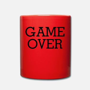 Game Over GAME OVER - Taza de un color