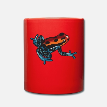 Grenouille Attention, je suis toxique dit la grenouille - Mug uni
