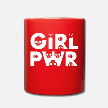 Girl Power Girl Power / Powergirls / Girl Power - Kubek jednokolorowy
