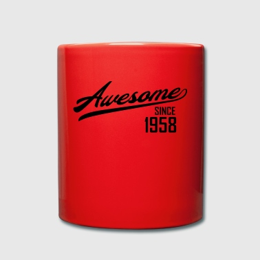 Awesome Since 1958 - Enfärgad mugg