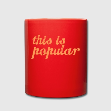 esto es popular - Taza de un color