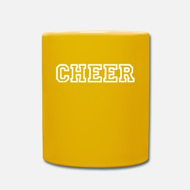Cheerful Cheer cheers cheers applaud cheers cheer - Mug