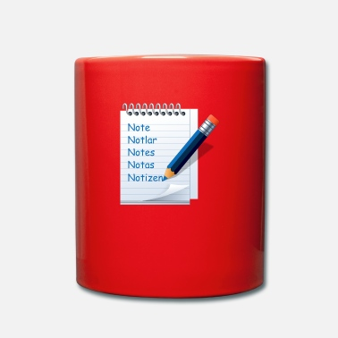 Note Clue notes - Full Colour Mug