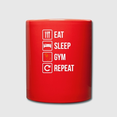 Eat Sleep Gym Repeat - Full Colour Mug