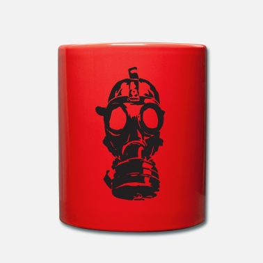 Gas Gas Mask Toxic Gift Toxic Idea War Weapons - Full Colour Mug
