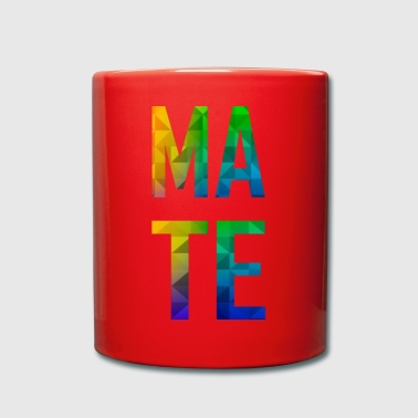 Mate- Partnerlook (Soul) Mate- Polygon - Tasse einfarbig