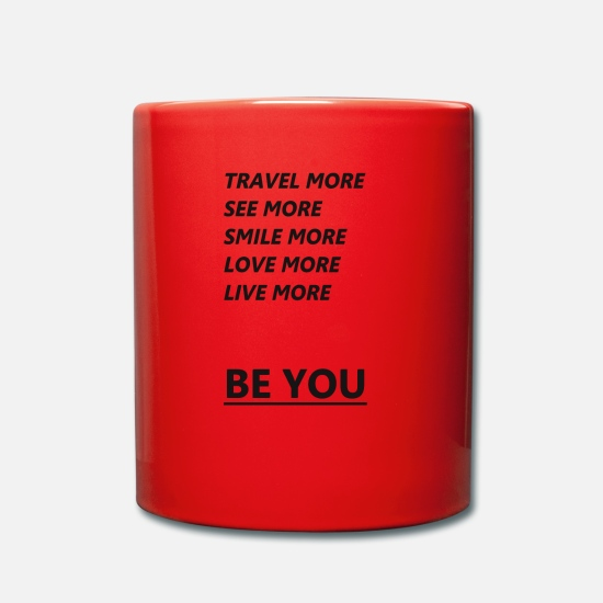 Young Money Mugs & Drinkware - BE YOU - Mug red