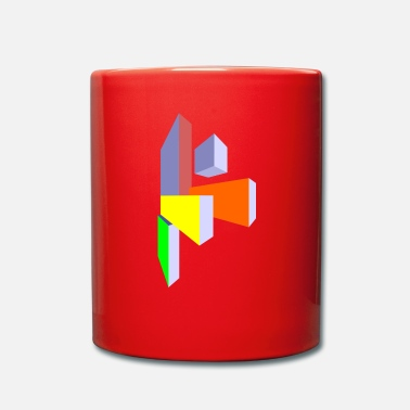 Rectangle rectangles - Mug uni