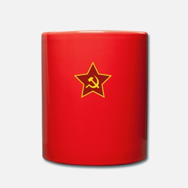 Comunismo Bandiera comunista Star Hammer and Sickle - Tazza monocolore