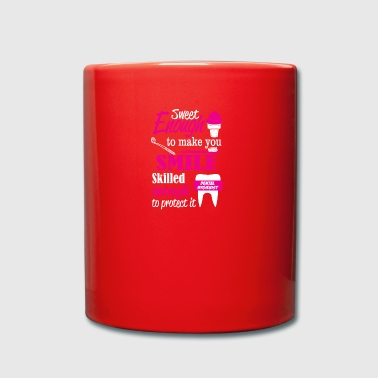 Dentist sweet enough to make you smile - Full Colour Mug