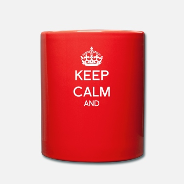 Keep Calm Keep calm - Mug uni