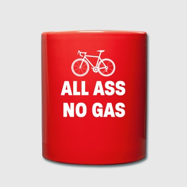 Cycling All ass no Gas - Full Colour Mug