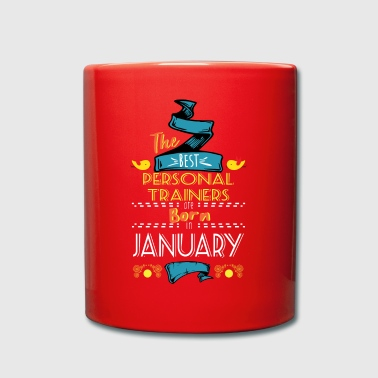 Personal Trainer Best Personal Trainers are Born in January Gift - Full Colour Mug