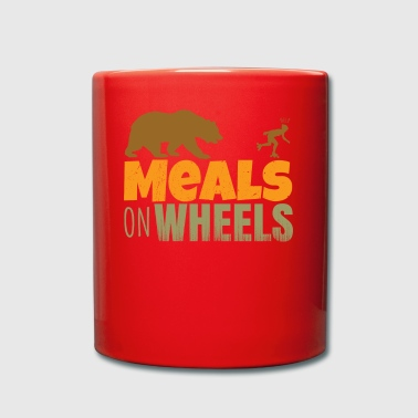 inlineskate - meals on wheels - Taza de un color