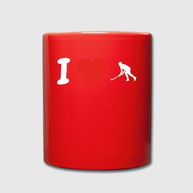 I love hockey hockey png - Full Colour Mug