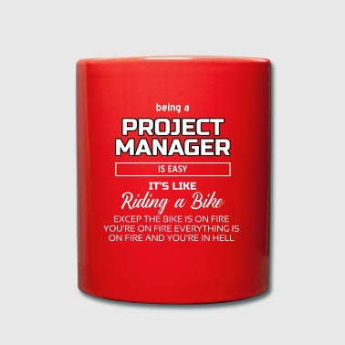 Project Manager - Tasse einfarbig