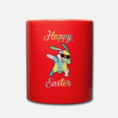 Easter Bunny Happy Easter Dabbing Easter Bunny Easter Bunny - Full Colour Mug