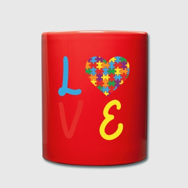 Love Autism Autism Awareness Day - Full Colour Mug