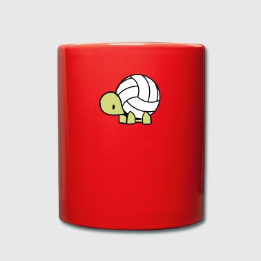 Volley turtle - Tasse einfarbig
